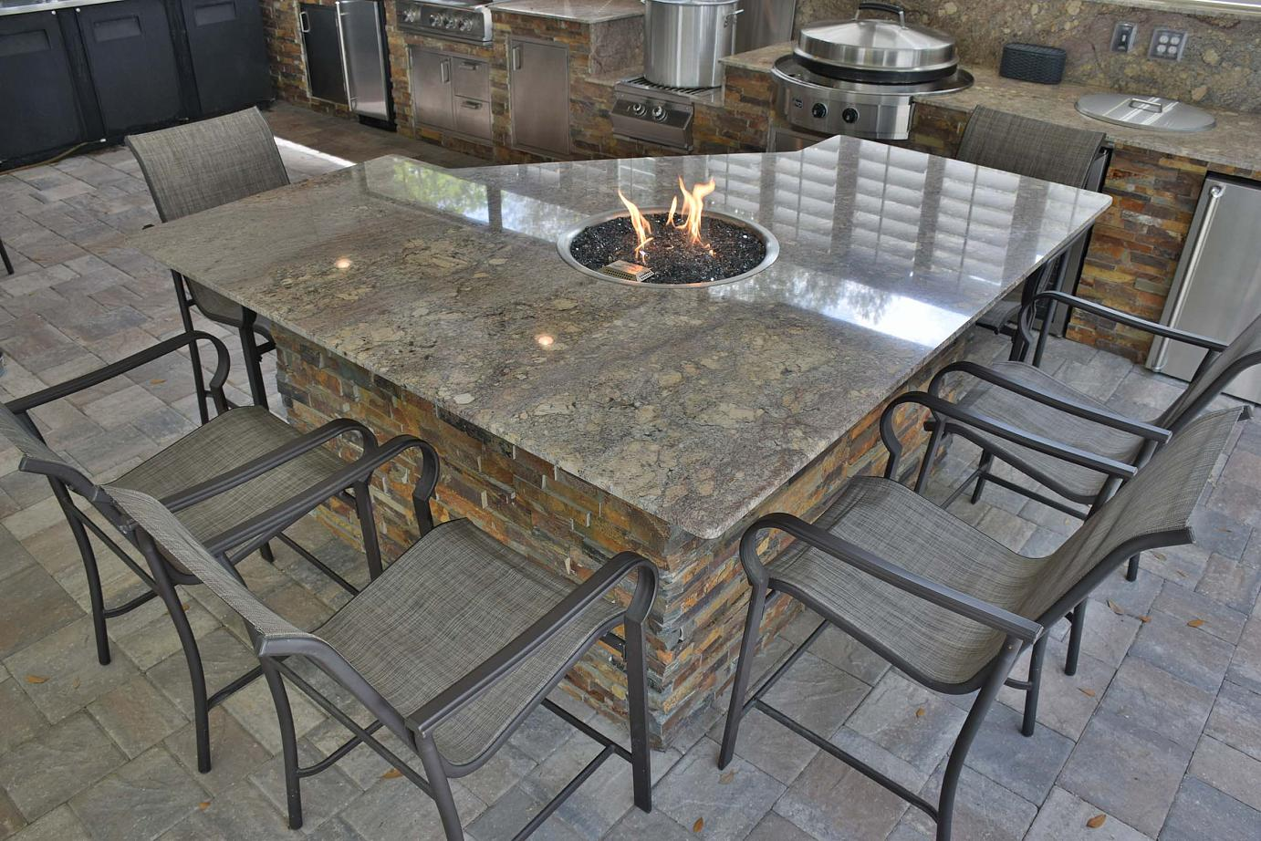 Custom Outdoor Kitchens by Creative Design Space
